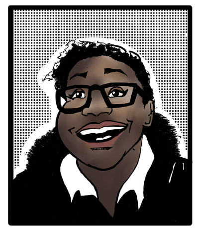 Prime Vice Studios sequential art  avatar portrait  cartoon branding  intellectual property Black owned business