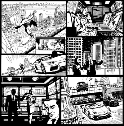 Prime Vice Studios Sequential art company Intellectual property Shawn Martinbrough cartoonist Graphic novel storytelling Comic art Black owned business